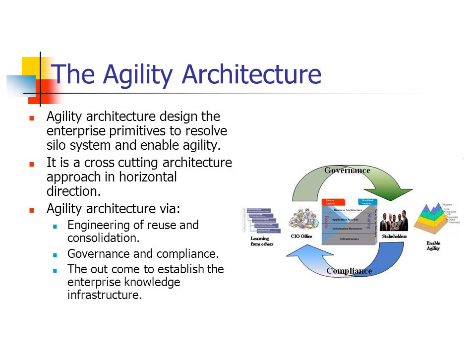 The Agility Architecture