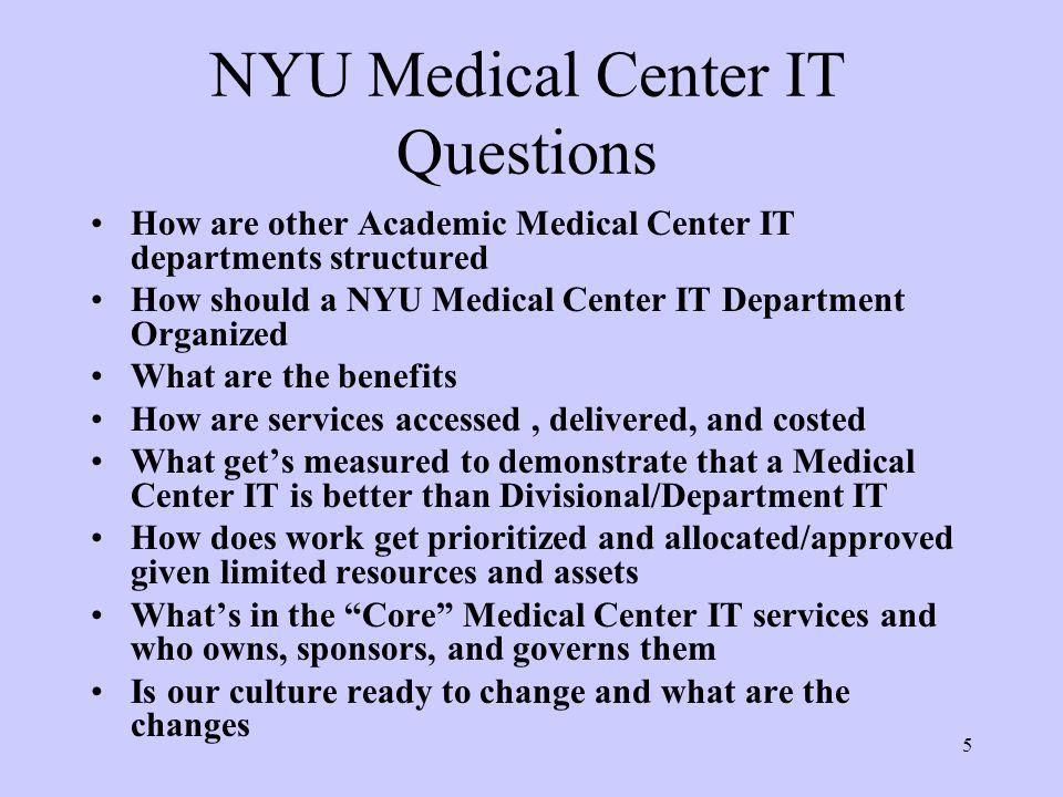 NYU Medical Center Information Technology (MCIT) - ppt video