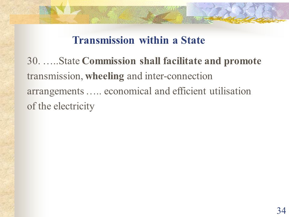 Transmission within a State
