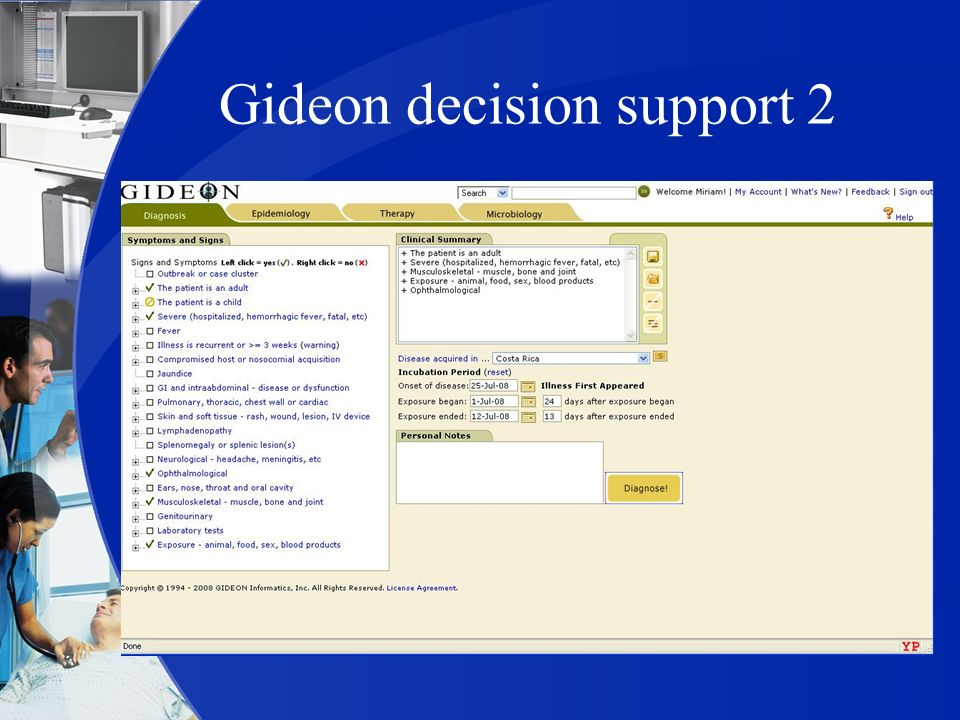 Gideon decision support 2