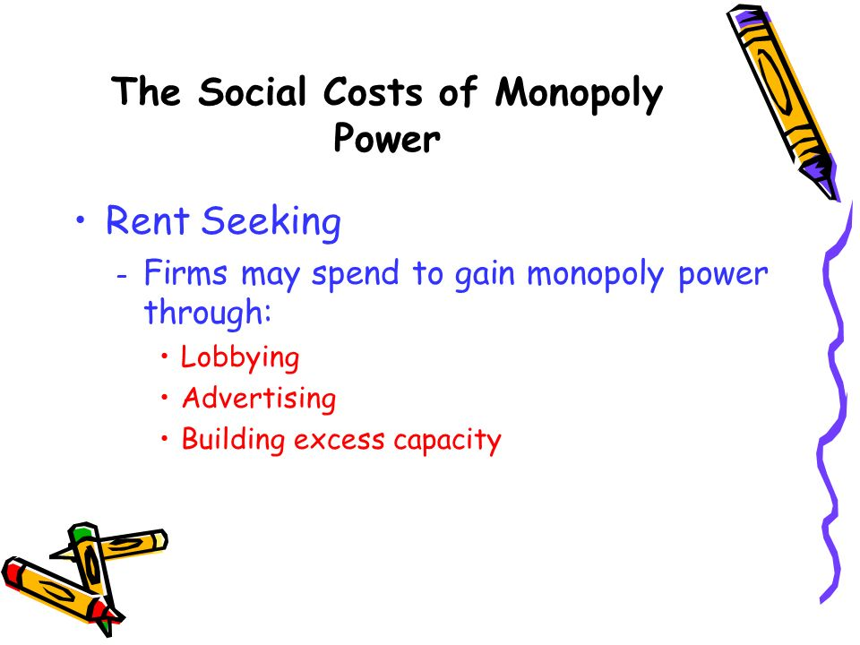 The Social Costs of Monopoly Power