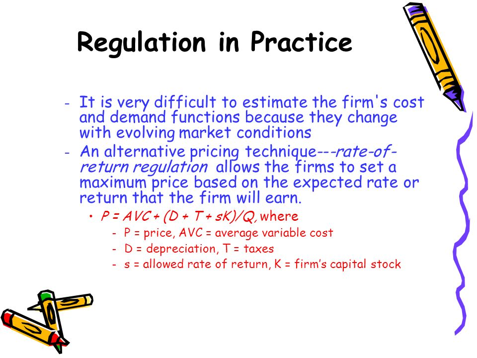 Regulation in Practice