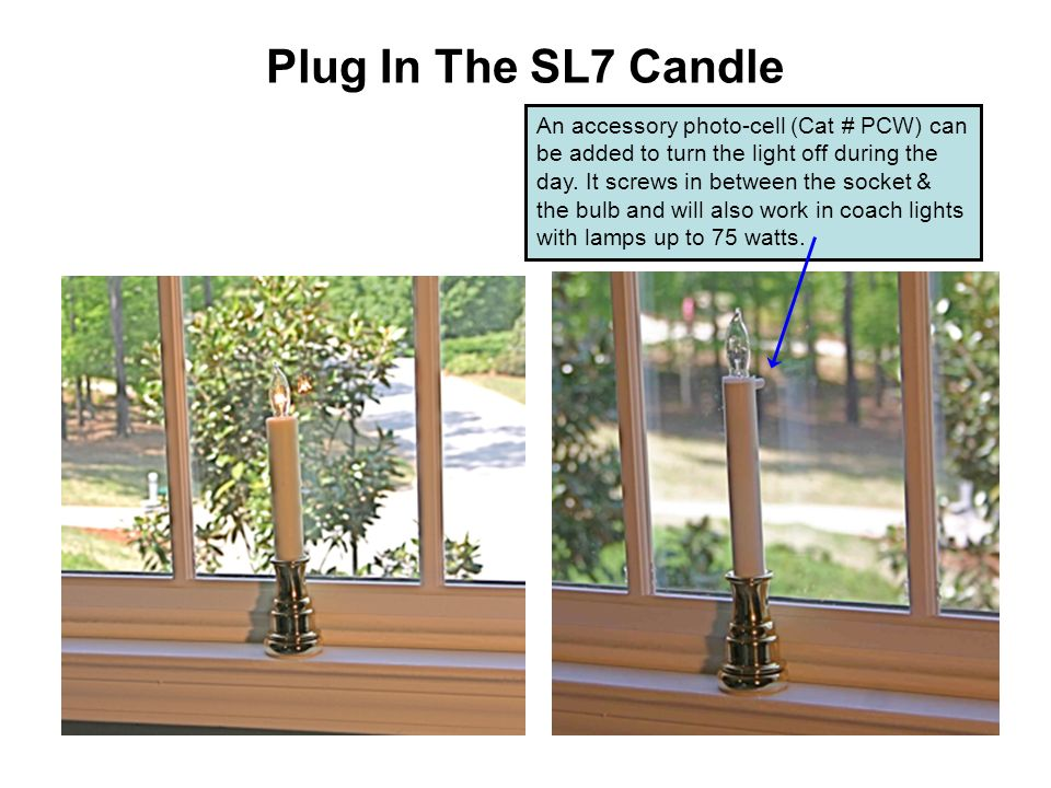 Plug In The SL7 Candle