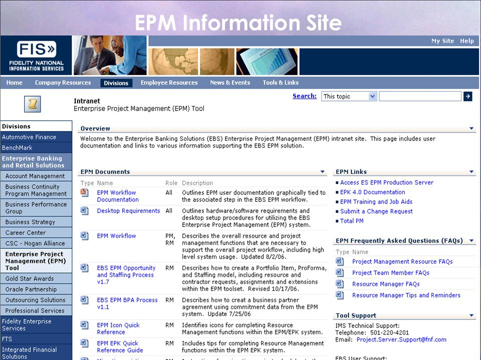 EPM Information Site Barb User's Meeting January 23-25,