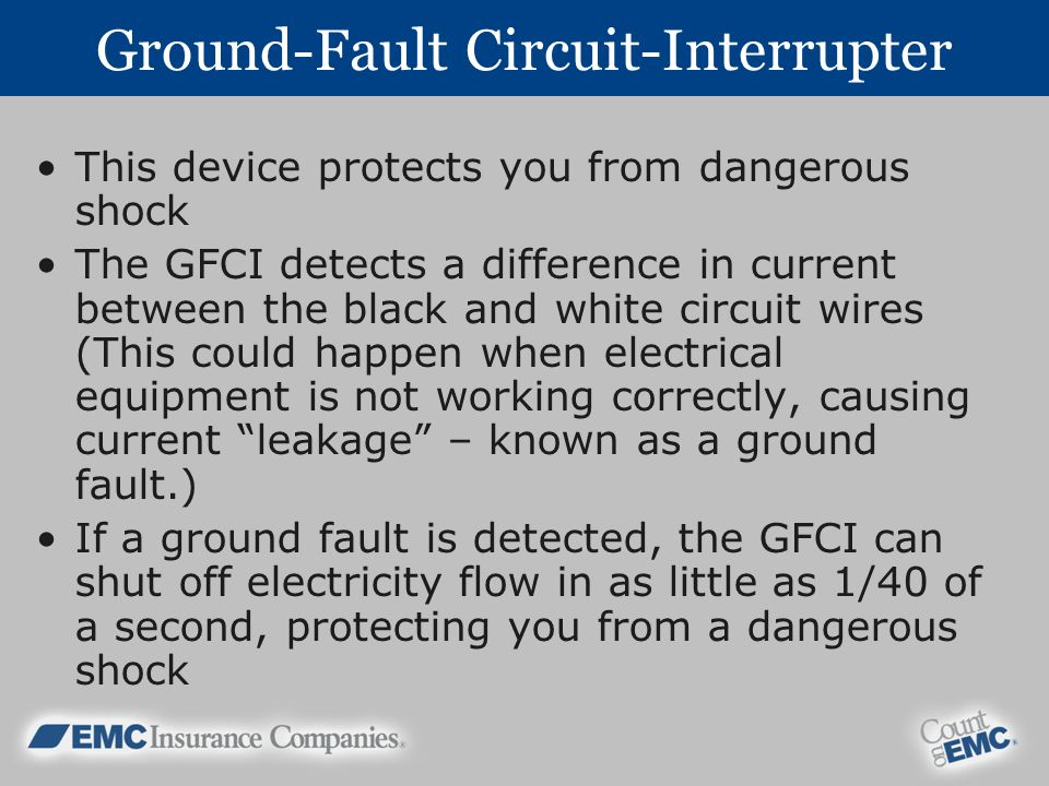 Ground-Fault Circuit-Interrupter