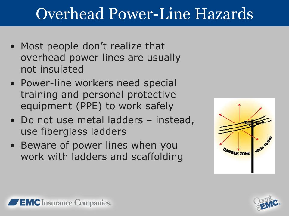 Overhead Power-Line Hazards