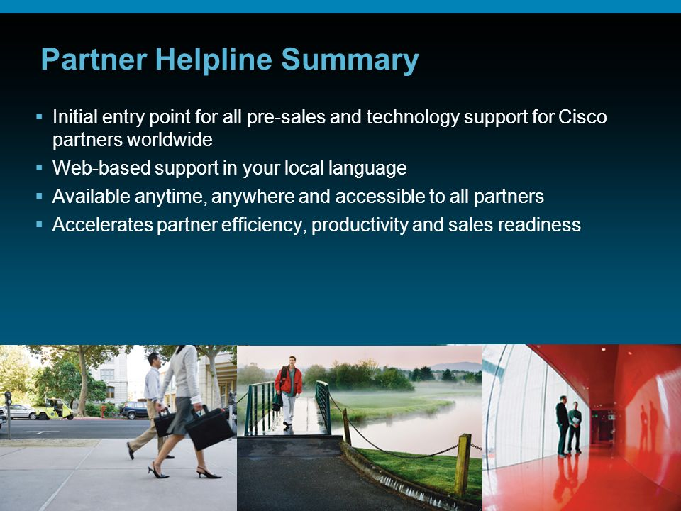 Partner Helpline Summary