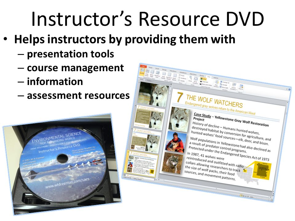 Instructor's Resource DVD