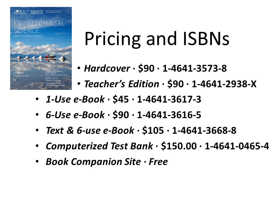Pricing and ISBNs Hardcover ∙ $90 ∙ 1-4641-3573-8