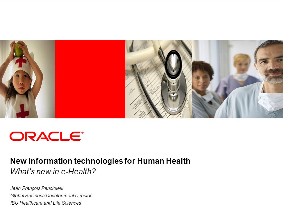 New information technologies for Human Health What's new in e-Health
