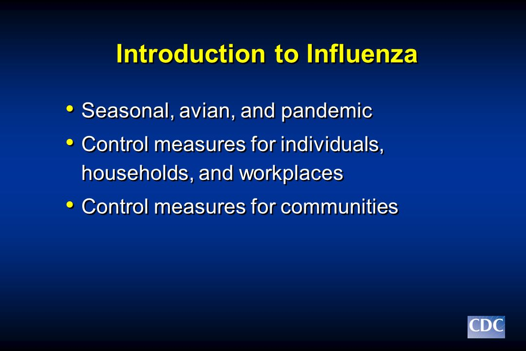 Introduction to Influenza