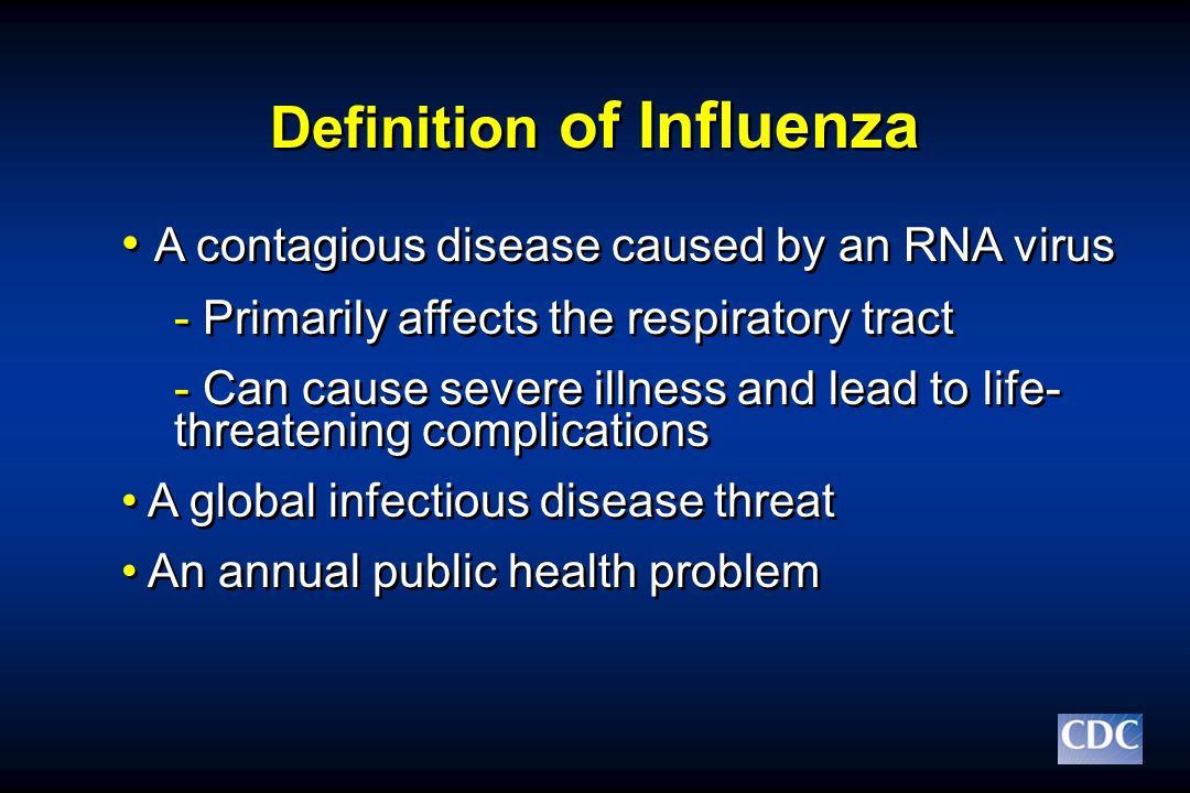 Definition of Influenza