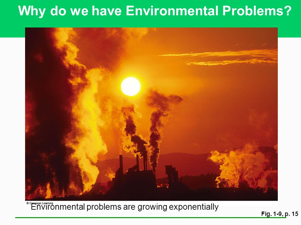 Why do we have Environmental Problems