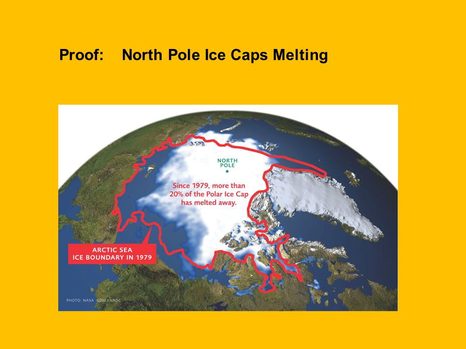 Proof: North Pole Ice Caps Melting
