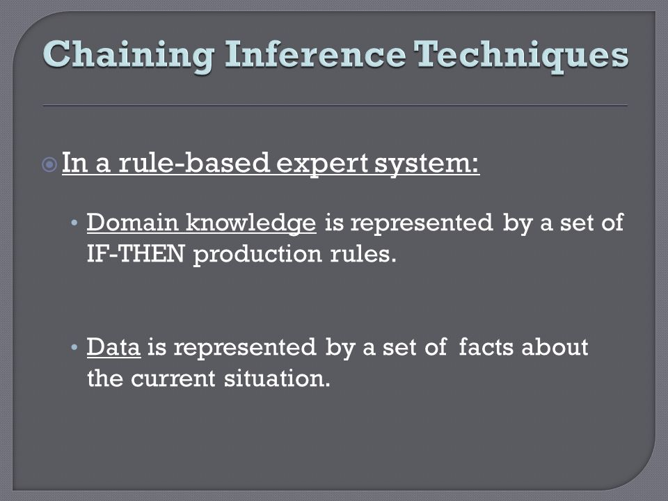 Chaining Inference Techniques