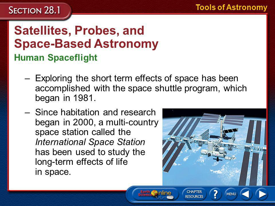 Satellites, Probes, and Space-Based Astronomy