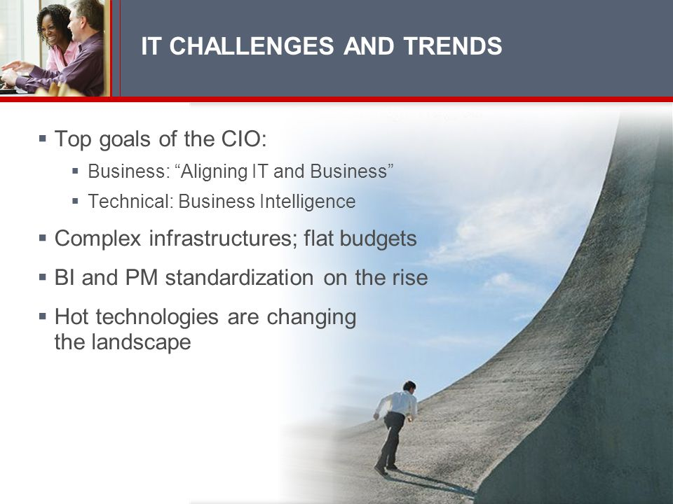 IT CHALLENGES AND TRENDS