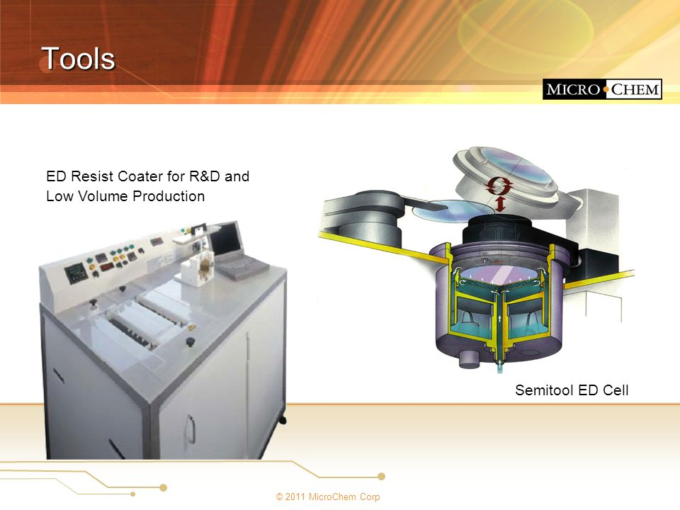 Tools ED Resist Coater for R&D and Low Volume Production