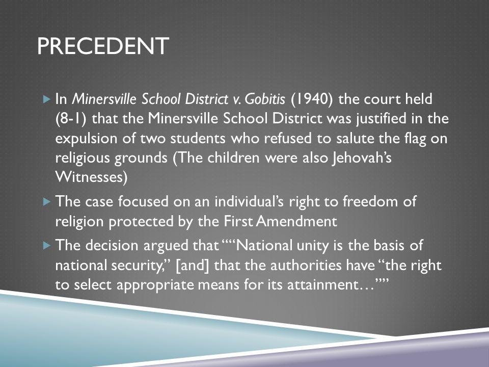 minersville school district v gobitis 1940