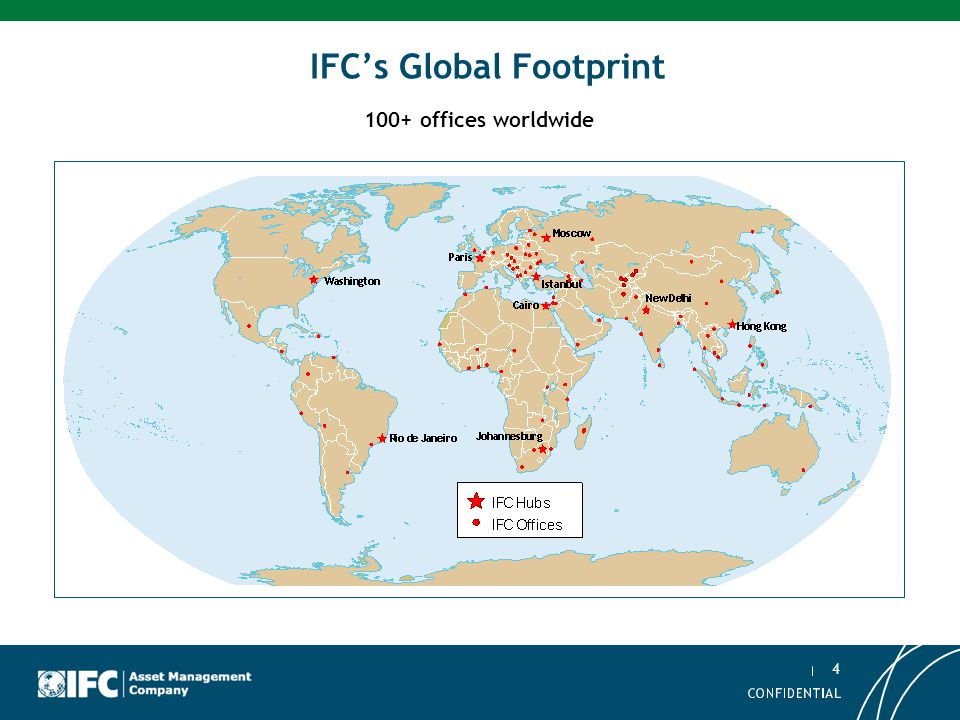 IFC's Global Footprint