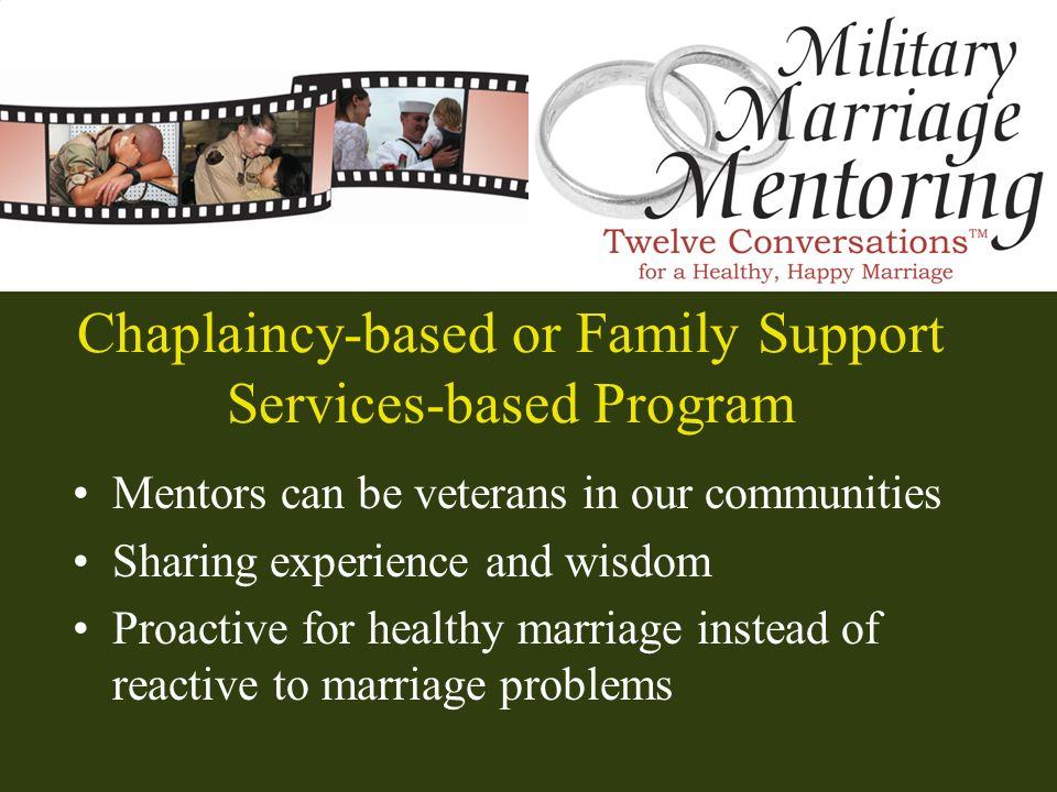 Chaplaincy-based or Family Support Services-based Program