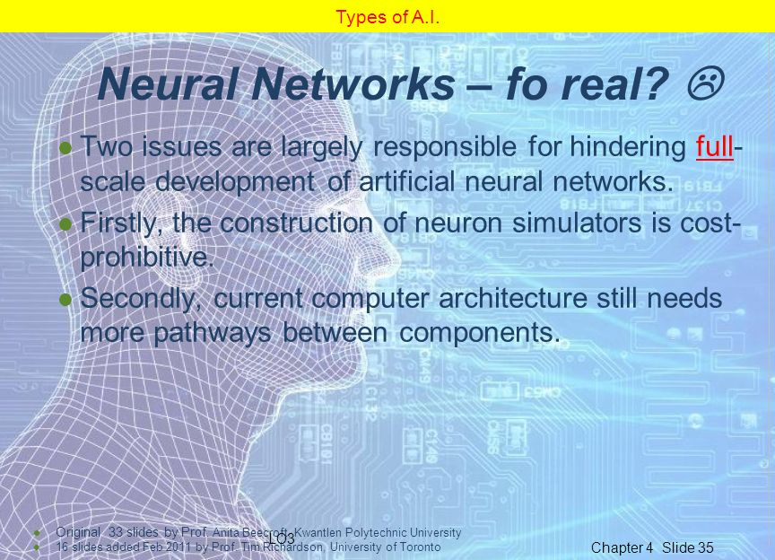 Neural Networks – fo real 