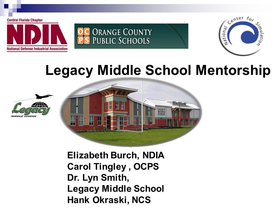 Legacy Middle School Mentorship