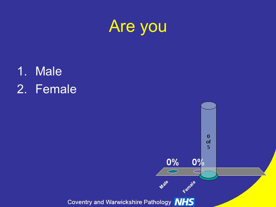 Are you Male Female of 5