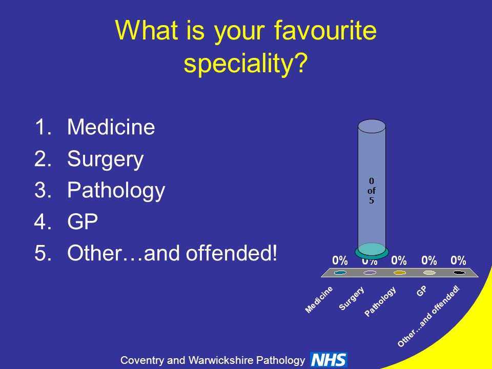 What is your favourite speciality