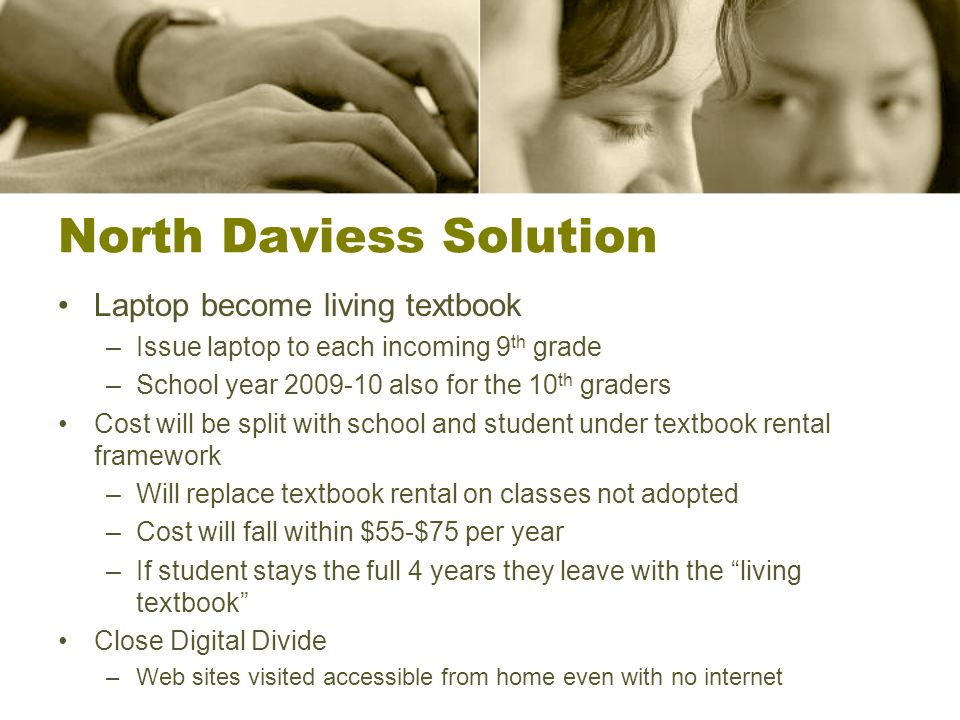 North Daviess Solution