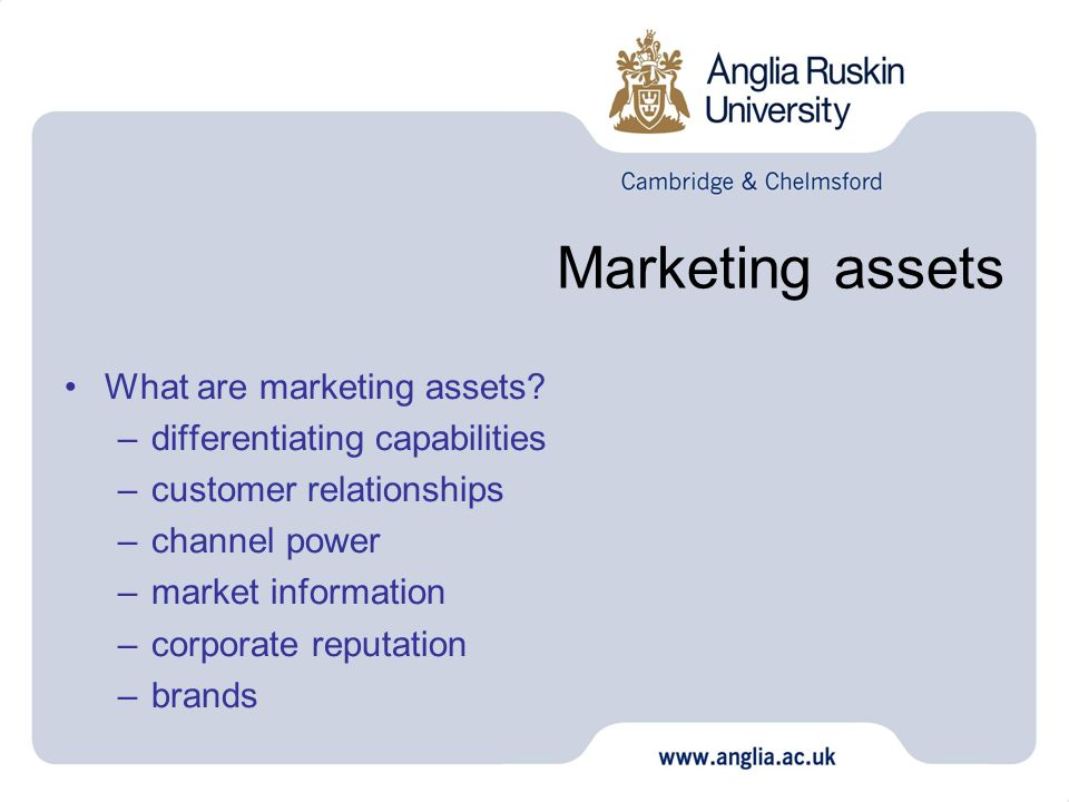Marketing assets What are marketing assets