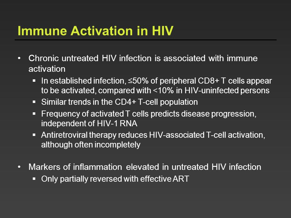 Immune Activation in HIV