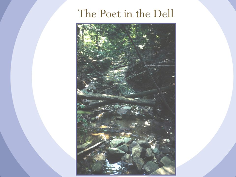 The Poet in the Dell