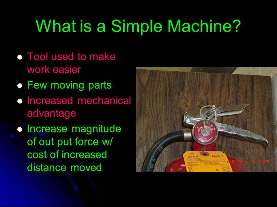 What is a Simple Machine