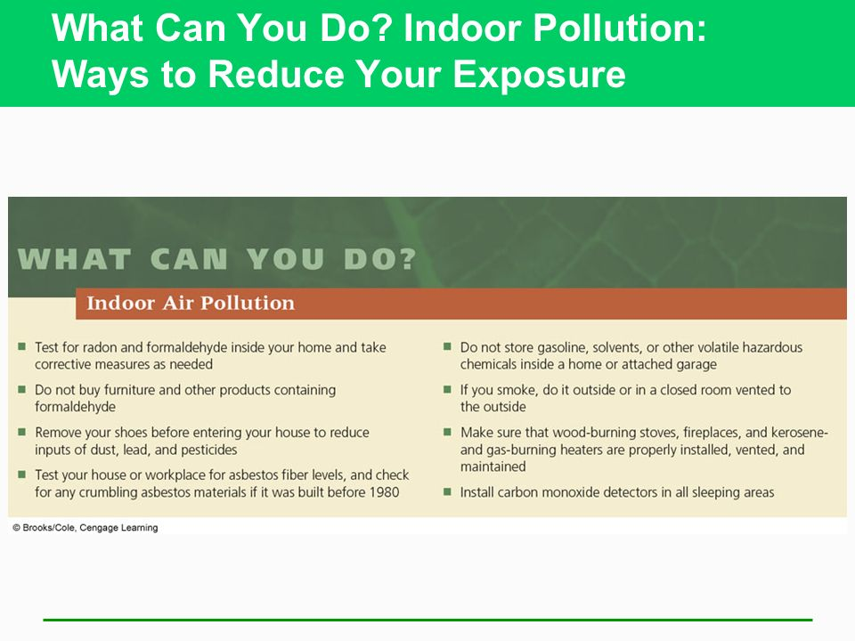 What Can You Do Indoor Pollution: Ways to Reduce Your Exposure