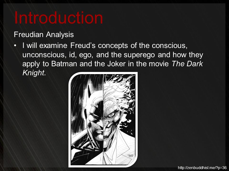 Introduction Freudian Analysis