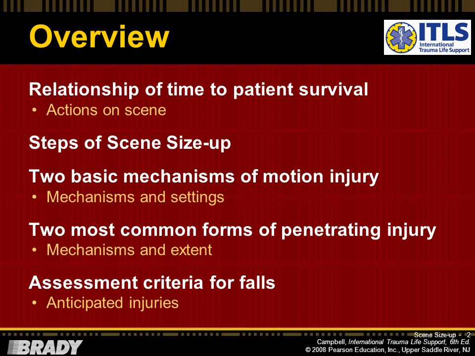 Overview Relationship of time to patient survival