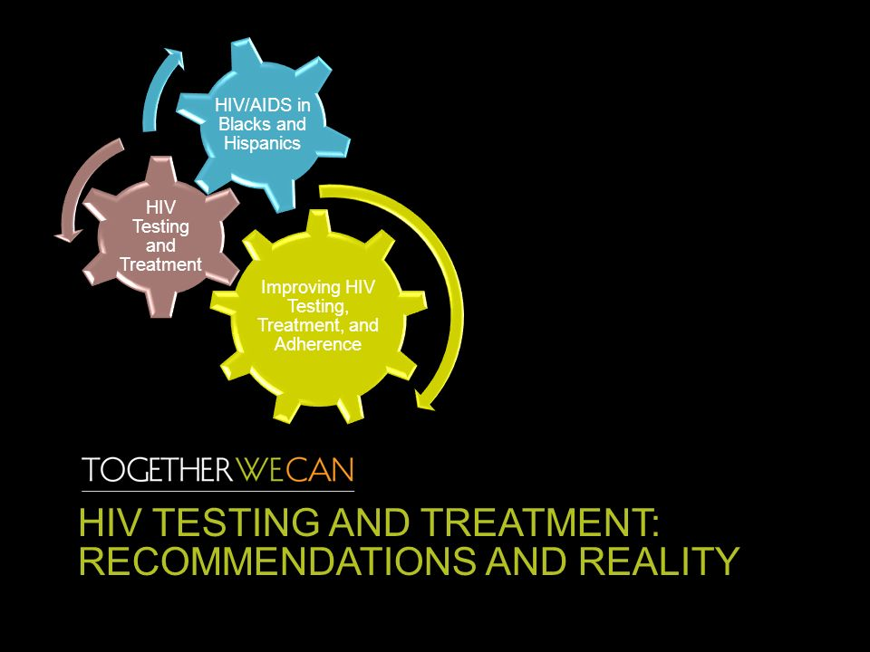 HIV TESTING AND TREATMENT: RECOMMENDATIONS AND REALITY