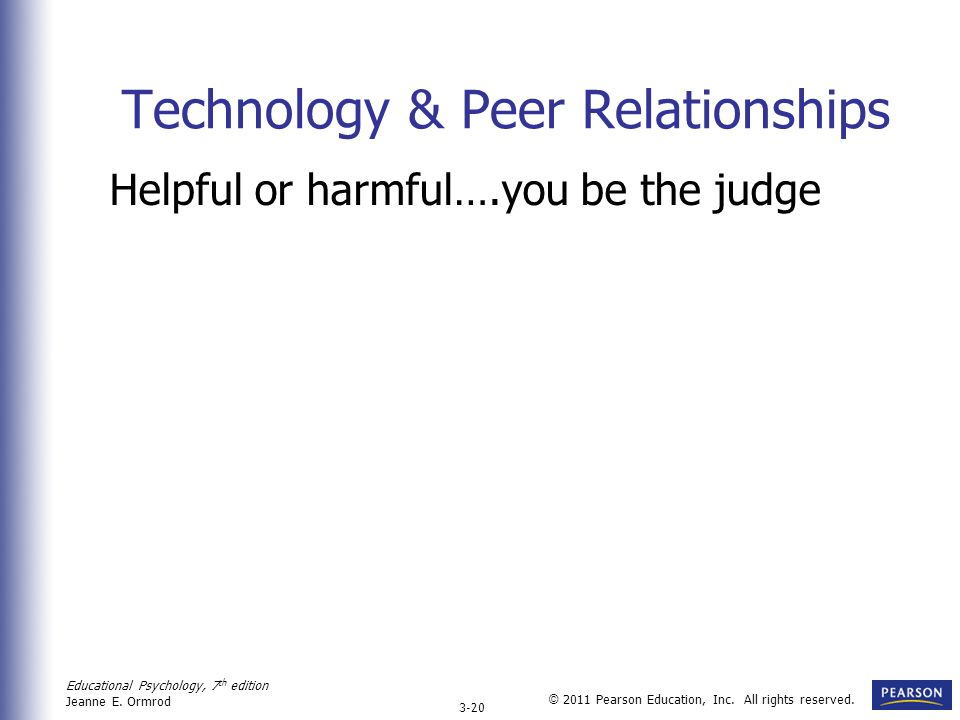 Technology & Peer Relationships