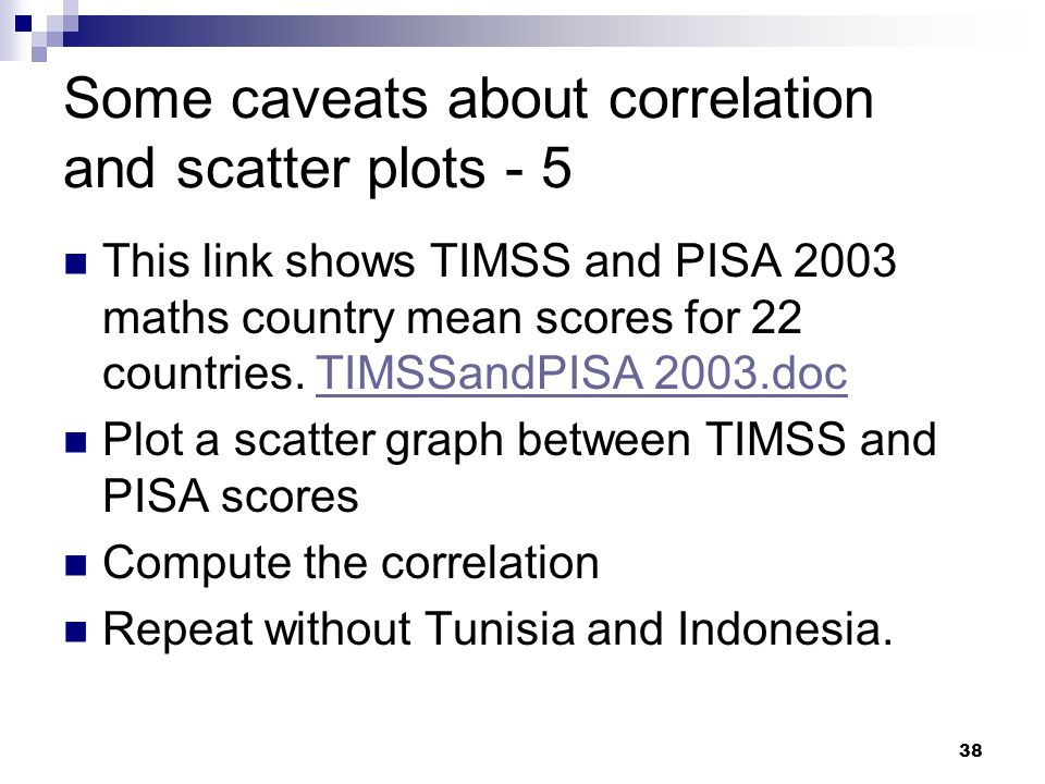Some caveats about correlation and scatter plots - 5