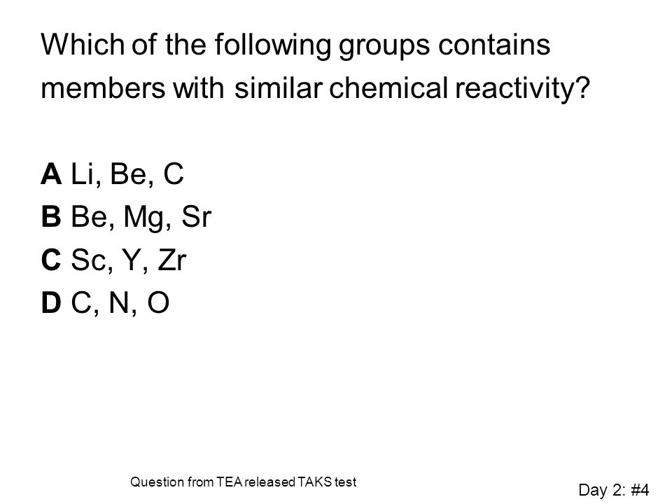 Which of the following groups contains