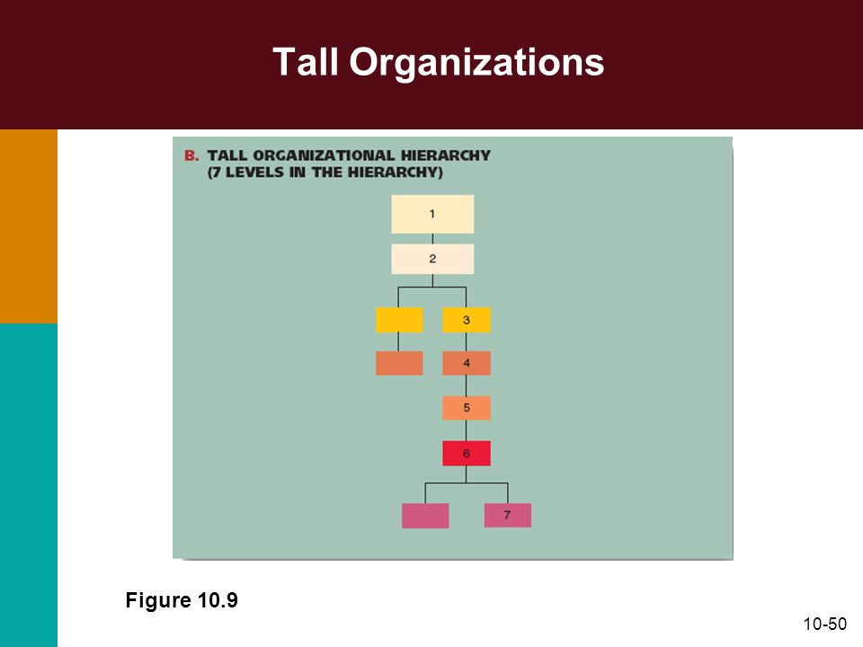 Tall Organizations Figure 10.9