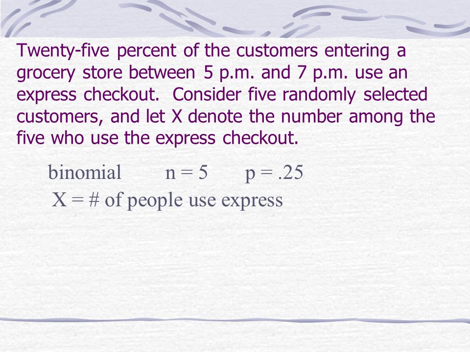 X = # of people use express
