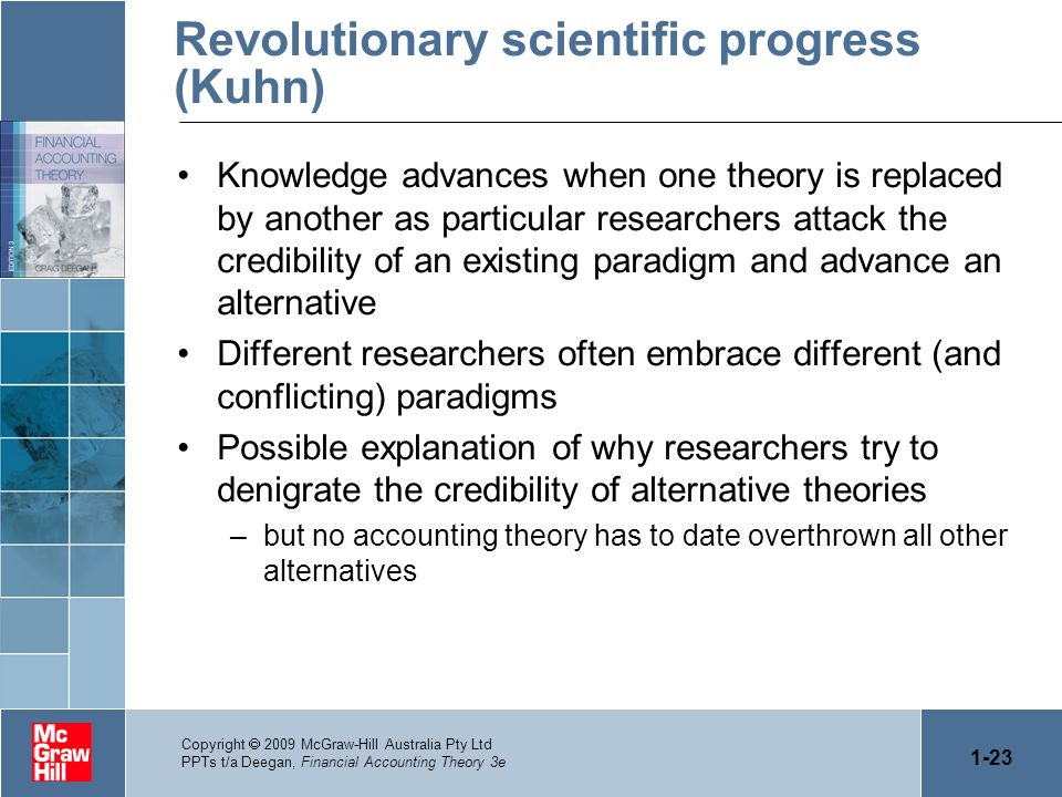 Revolutionary scientific progress (Kuhn)