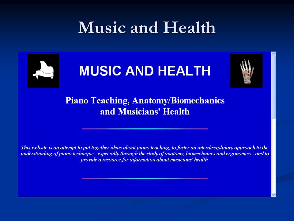 Music and Health