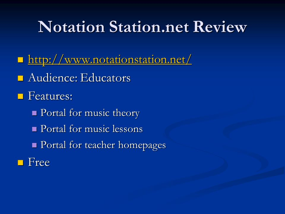 Notation Station.net Review