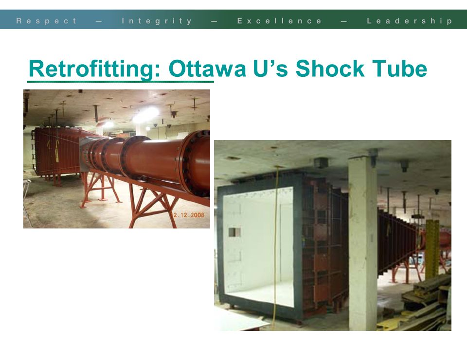 Retrofitting: Ottawa U's Shock Tube
