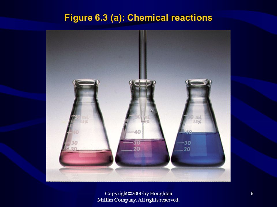 Figure 6.3 (a): Chemical reactions