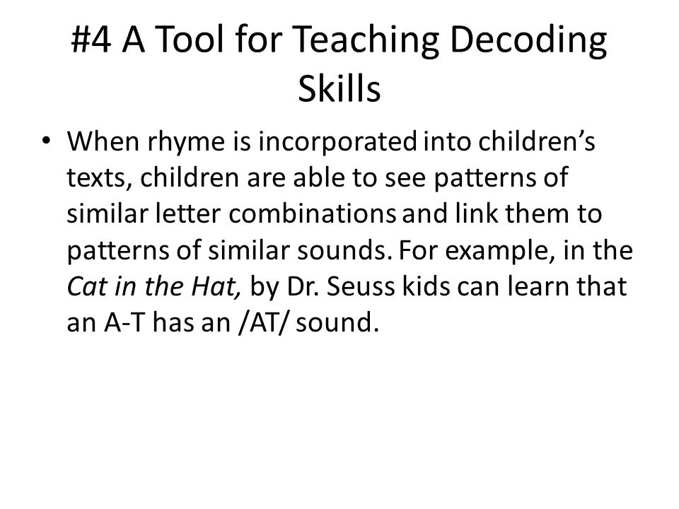 #4 A Tool for Teaching Decoding Skills