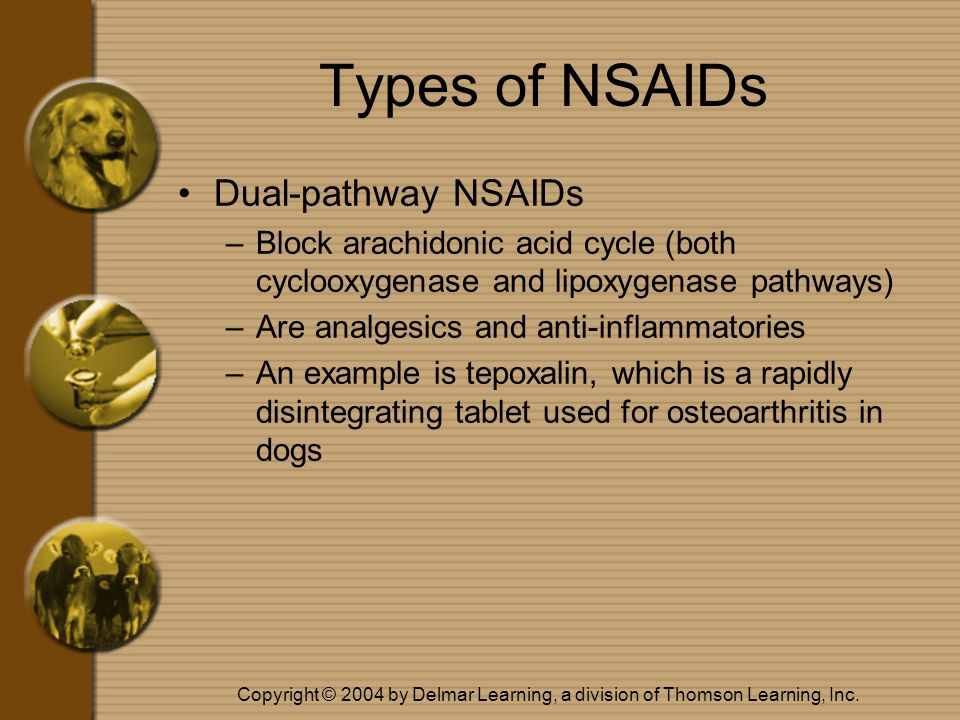 Types of NSAIDs Dual-pathway NSAIDs